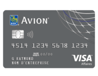 Visa Business Platinum Avion Card