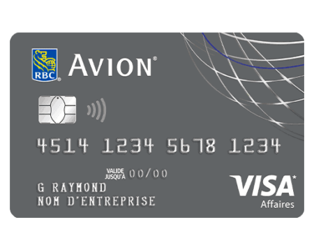 Visa Business Platinum Avion Card