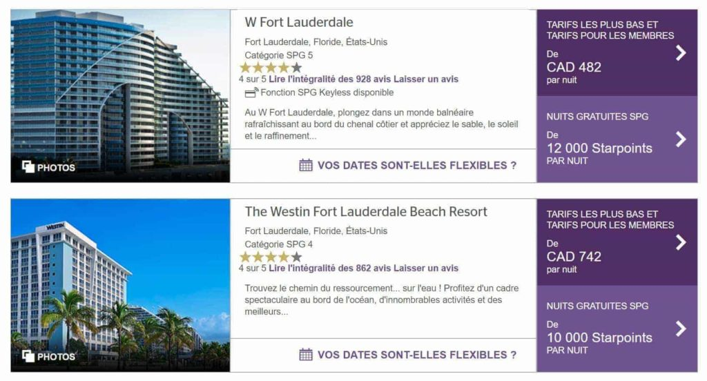w and westin fort lauderdale
