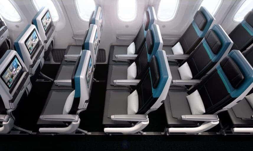 westjet eco 787