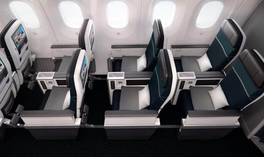 westjet premium 787