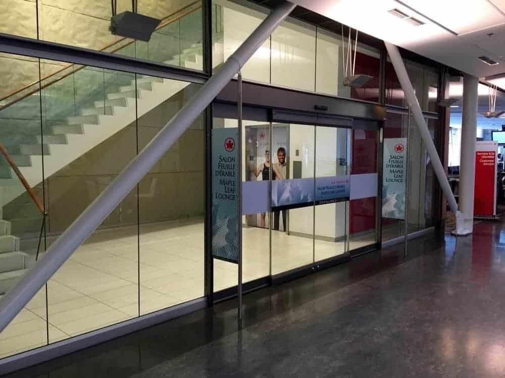 Salon Feuille d'Érable Air Canada - Montréal Trudeau (transfrontalier)