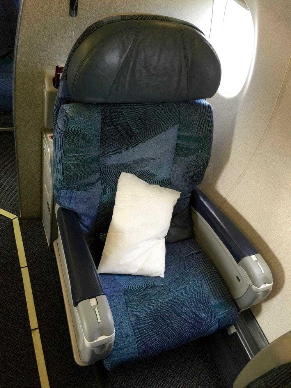 Fauteuil Classe Affaires Air Canada - ERJ175