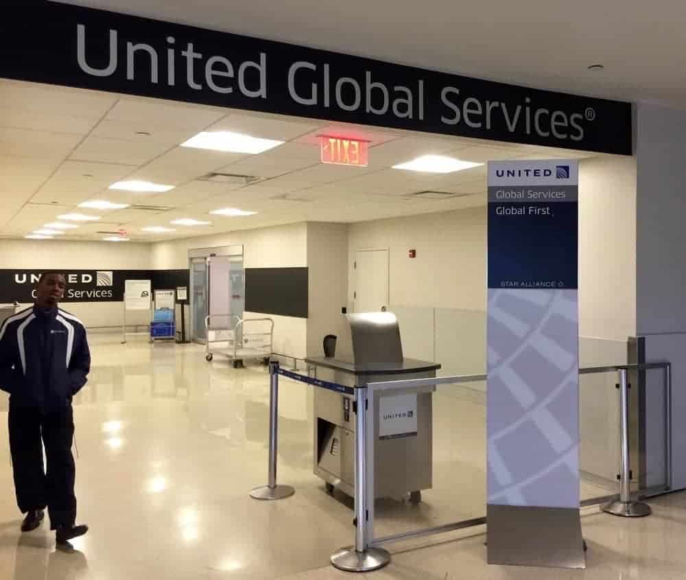United Global Services - Ligne des passagers VIP