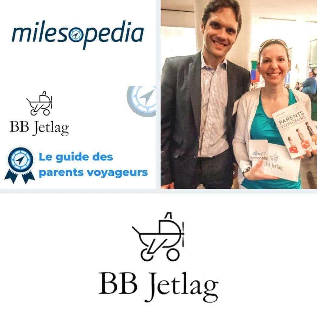Notre gagnante du livre BB Jetlag