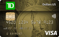 Carte Visa TD Dollars US