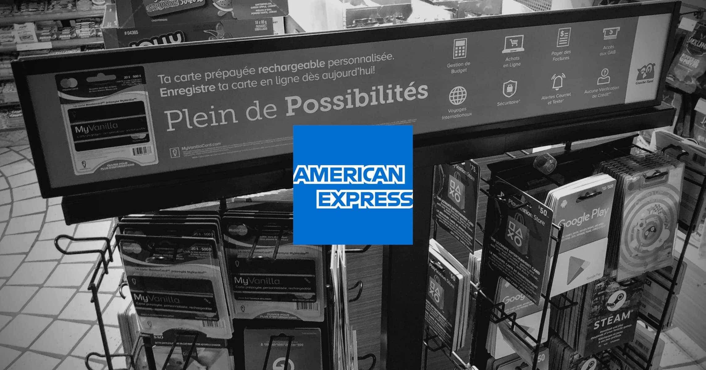 Virement Carte American Express.Les Cartes Cadeaux Prepayees Dans Le Viseur D American