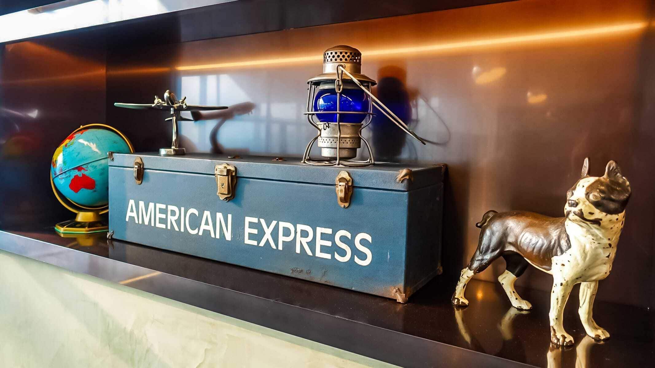 american express logo salon