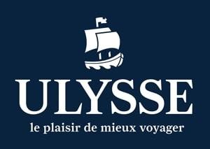 logo Navire Ulysse Plaisir blanc sur bleu 300pix
