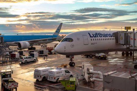 Lufthansa A350 LH475 classe affaires 03