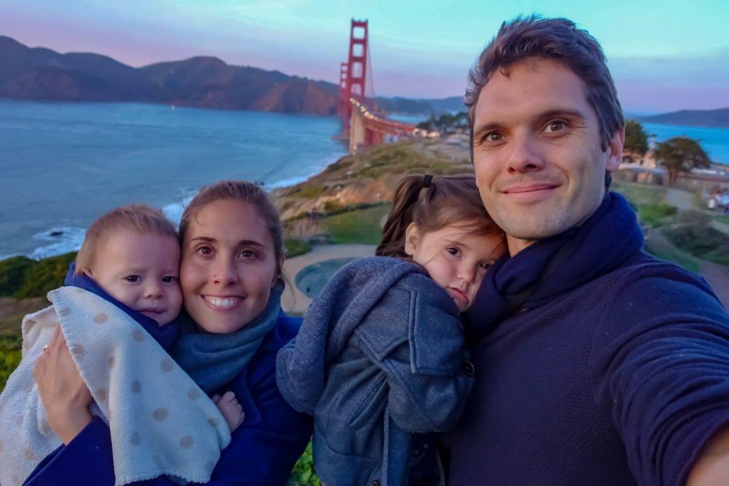 En famille à San Francisco