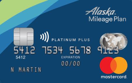 Alaska Airlines Platinum Plus® Mastercard®