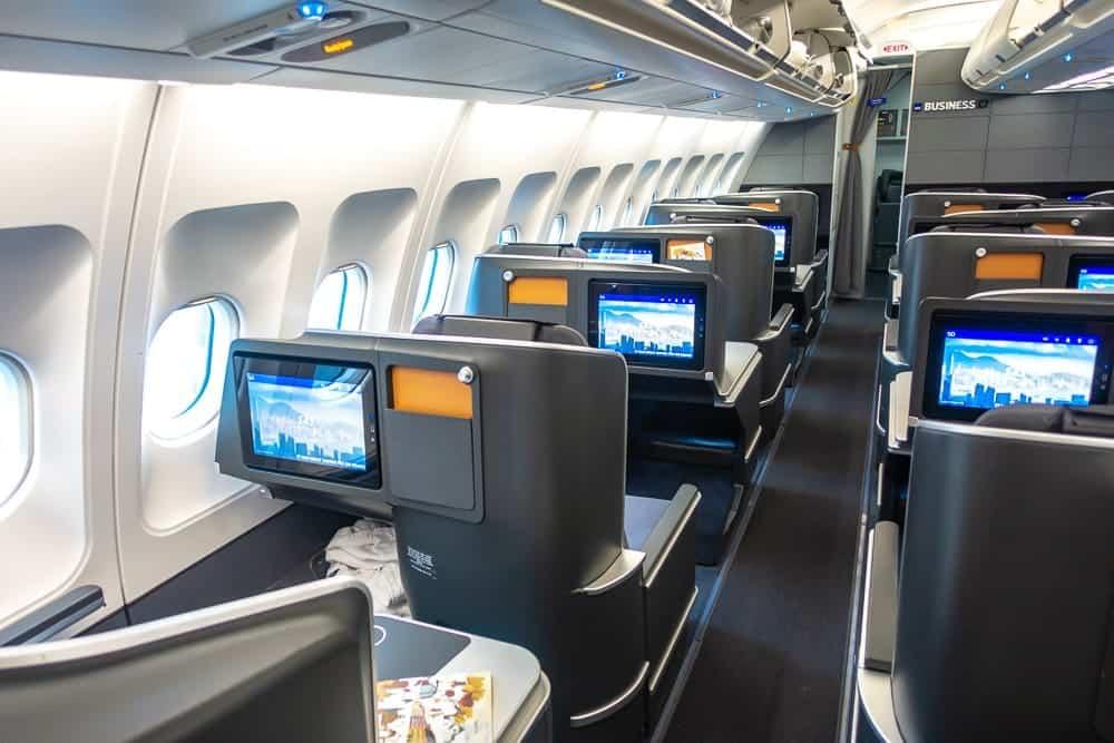 Sas A330 Business Class