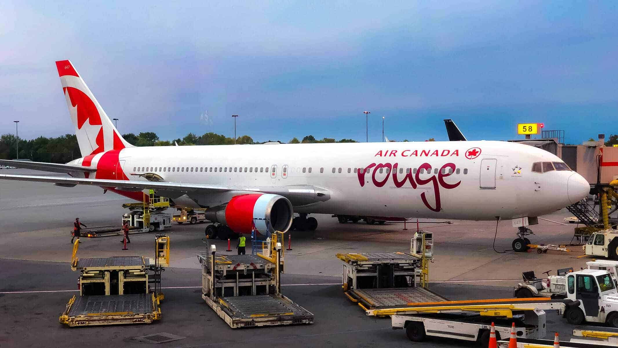 featured air canada rouge 767