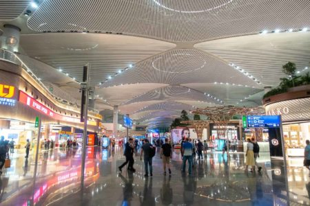 istanbul airport interieur