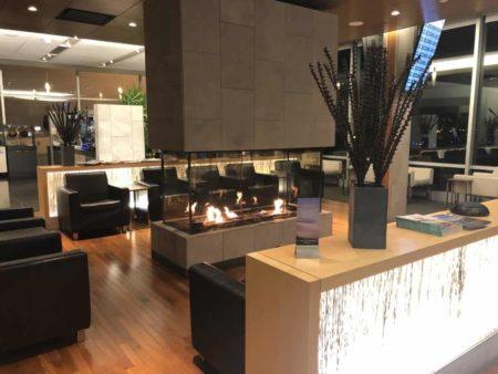 lounge VIP of YQB Quebec Jean Lesage Intl 9