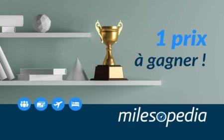Milesojeu: Participez à Notre Jeu Pour Tenter De Gagner Un Prix !