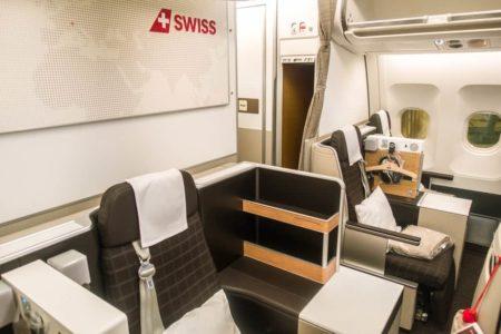 Swiss A340 New Business Class 02