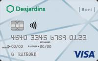 B Carte Boni Visa Desjardins F