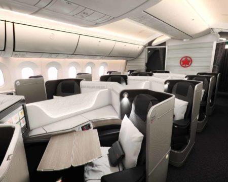 Air Canada 787 Signature Feuille DÉrable