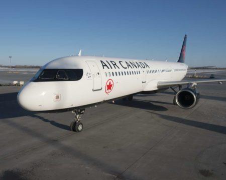 Air Canada A321 Montreal