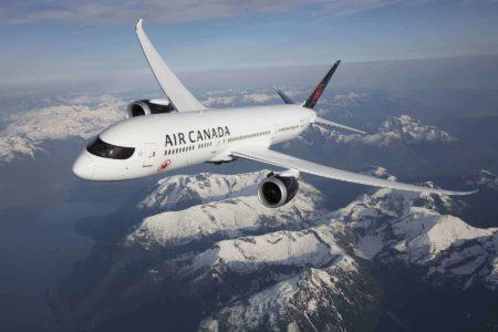 Air Canada B787 9 Rocheuses