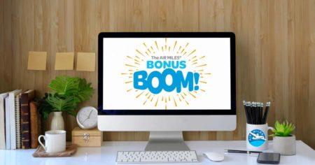 Bonus Boom AIR MILES