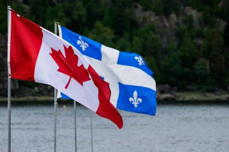 Canada Quebec Flags