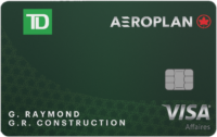 Td Visa Business Aeroplan New