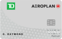 Td Visa Platinum Aeroplan New