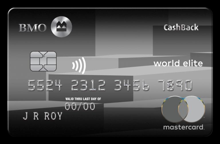 BMO CashBack World Elite Mastercard ★ Sign-Up Bonus | Milesopedia