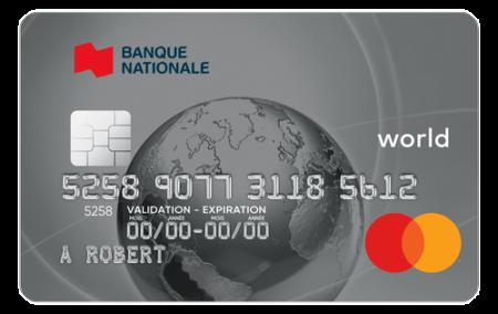 Carte Bnc World Mastercard