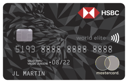 Carte Mastercardᴹᴰ HSBC World Eliteᴹᴰ