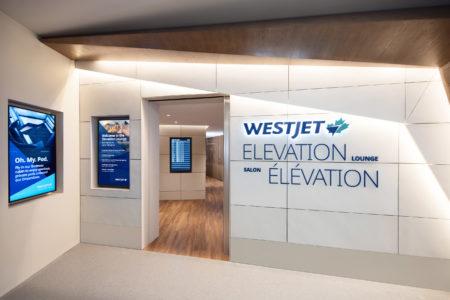 Westjet Elevation Lounge Exterior