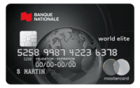 Carte Bnc World Elite Mastercard