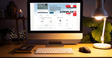 Aeroplan Featured Edge Table