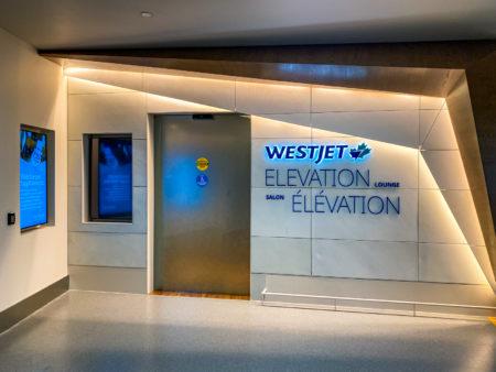 Westjet Elevation Lounge
