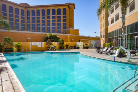 Marriott Suites Anaheim Piscine