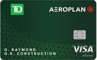 Carte Visa Affaires Td Aeroplan