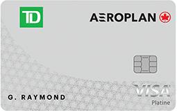 Carte Visa Platine Td Aeroplan