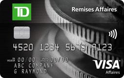 Carte Visa Td Remises Affaires