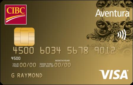 Cibc Visa Aventura Gold En Ret
