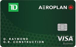 TD® Aeroplan® Visa* Business Card