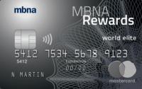 Mbna Rewards We Fr