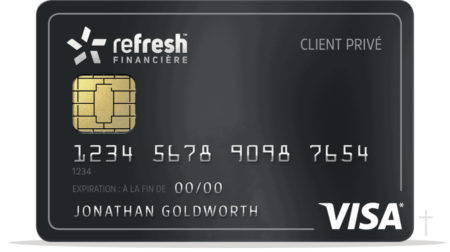 Refresh Financial Card