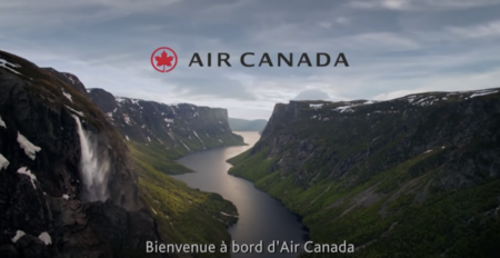 New Air Canada Safety Video