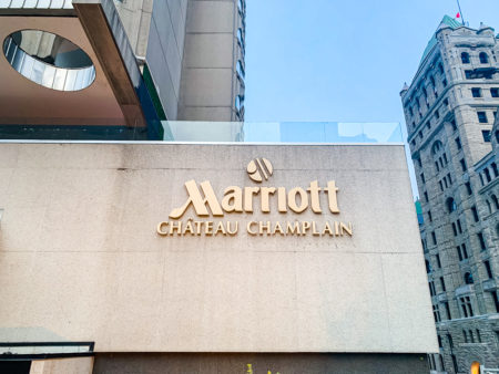 Montreal Marriott Chateau Champlain