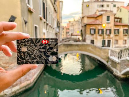 Venise ponts carte HSBC