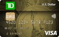 Carte Visa* TD Dollars US