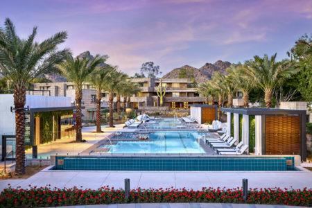 WA Arizona Biltmore Saguaro Pool Dusk HR